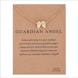Jewelry - Guardian angel wings necklace